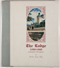 Books:First Editions, Dorothy Jensen Neal. SIGNED. The Lodge 1899-1969.[Alamogordo]: Alamogordo Printing, [1969]. First edition. Signed...