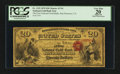 National Bank Notes:California, San Francisco, CA - $20 Original National Gold Bank Note Fr. 1152 The First National Gold Bank Ch. # 1741. ...