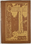 Books:First Editions, Mary Austin. Outland. New York: Boni and Liveright, 1919.First edition. Octavo. Publisher's binding. Minor rubbing ...