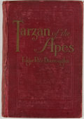 Books:First Editions, Edgar Rice Burroughs. Tarzan of the Apes. Chicago: McClurg,1914. First edition, second state binding. Octavo. 400 p...