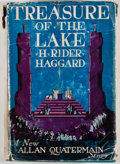 Books:First Editions, H. Rider Haggard. Treasure of the Lake. Garden City:Doubleday, Page, 1926. First edition, first printing. Octavo. P...