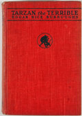 Books:First Editions, Edgar Rice Burroughs. Tarzan the Terrible. Chicago: McClurg,1921. First edition. Octavo. Publisher's binding. Minor...