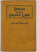 Books:First Editions, Edgar Rice Burroughs. Tarzan and the Golden Lion. Chicago:McClurg, 1923. First edition. Octavo. Publisher's binding...
