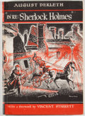 "Books:First Editions, August Derleth. ""In Re: Sherlock Holmes"" The Adventures of SolarPons. Sauk City: Mycroft and Moran, 1945. First..."