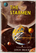 Books:First Editions, Leigh Brackett. The Starmen. New York: Gnome Press, [1952].First edition, first printing. Octavo. Publisher's b...
