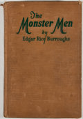 Books:First Editions, Edgar Rice Burroughs. The Monster Men. Chicago: McClurg,1929. First edition. Octavo. Publisher's binding. Cloth is ...