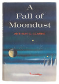 Books:First Editions, Arthur C. Clarke. A Fall of Moondust. New York: Harcourt,Brace & World, [1961]. First edition. Octavo. 248 pages. P...