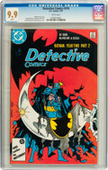 Modern Age (1980-Present):Superhero, Detective Comics #576 (DC, 1987) CGC MT 9.9 White pages....