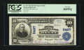 National Bank Notes:Colorado, Delta, CO - $10 1902 Plain Back Fr. 633 The First NB Ch. # 5467....
