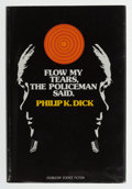Books:First Editions, Philip K. Dick. Flow My Tears, the Policeman Said. GardenCity: Doubleday & Company, 1974. First edition. Octavo. 23...