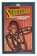 Books:Signed Editions, Orson Scott Card. Unaccompanied Sonata & Other Stories. London: Macdonald & Co, [1983]. First British edition. Ins...