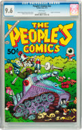 Bronze Age (1970-1979):Alternative/Underground, The People's Comics #nn (Golden Gate, 1972) CGC NM+ 9.6 White pages....