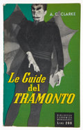 Books:Signed Editions, Arthur C. Clarke. Le Guide del Tramonto. [Italy]: Arnoldo Mondadori, [November 1955]. First edition. Signed by the...