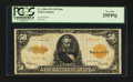 Large Size:Gold Certificates, Fr. 1200a $50 1922 Gold Certificate PCGS Very Fine 25PPQ.. ...