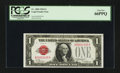 Small Size:Legal Tender Notes, Low Serial Number Fr. 1500 $1 1928 Legal Tender Note. PCGS Gem New 66PPQ.. ...