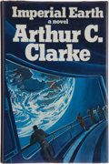 Books:Science Fiction & Fantasy, Arthur C. Clarke. Imperial Earth. A Fantasy of Love andDiscord. London: Victor Gollancz Ltd., 1975. First e...