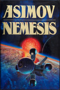 Books:Science Fiction & Fantasy, Isaac Asimov. Nemesis. New York, et al.: Doubleday, [1989]. First edition. Signed by Asimov on the title pag...