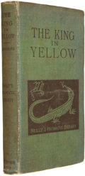 Books:Science Fiction & Fantasy, Robert W. Chambers. The King in Yellow. Chicago and NewYork: F. Tennyson Neely, 1895. First edition. Twelvemo. ...