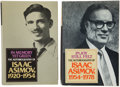 Books:Signed Editions, Isaac Asimov. Two Signed Autobiographies, including: In MemoryGreen, the Autobiography of Isaac Asimov, 1920-1954...(Total: 2 Items)