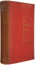 Books:First Editions, H. G. Wells. The Plattner Story and Others. London: Methuen,1897. First edition. Octavo. vii, 301 pages. 40 pages o...