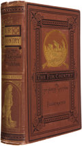 Books:First Editions, Jules Verne. The Fur Country, or Seventy Degrees NorthLatitude. Boston: James R. Osgood and Company, 1874. Firs...