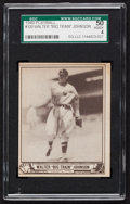 Baseball Cards:Singles (1940-1949), 1940 Play Ball Walter Johnson #120 SGC 50 VG/EX 4....