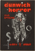Books:Horror & Supernatural, H. P. Lovecraft. The Dunwich Horror and Others. The BestSupernatural Stories of H. P. Lovecraft. Sauk City,...