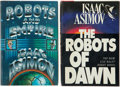 Books:Signed Editions, Isaac Asimov. Two Signed Robot Novels, including: TheRobots of Dawn. 1983. Inscribed by Asimov on t... (Total: 2Items)