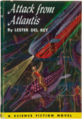 Books:First Editions, Lester del Rey. Attack From Atlantis. Philadelphia: John C.Winston, [1953]. First edition. Octavo. 207 pages. Some ...