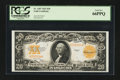 Large Size:Gold Certificates, Fr. 1187 $20 1922 Gold Certificate PCGS Gem New 66PPQ.. ...