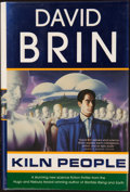 Books:Science Fiction & Fantasy, David Brin. Kiln People. New York: A Tom Doherty Associates Book, [2002]. First edition, first printing. Inscr...