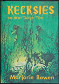 Books:Horror & Supernatural, Marjorie Bowen. Kecksies and Other Twilight Tales. Sauk City, Wisconsin: Arkham House, [1976]. First edition. ...