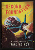 Books:Science Fiction & Fantasy, Isaac Asimov. Second Foundation. [New York]: Gnome Press, [1953]. Book club edition. Signed by the author on the...