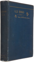 Books:Science Fiction & Fantasy, Lieut. Alvarado M. Fuller. A. D. 2000. Chicago: Laird &Lee Publishers, 1890. First American edition. Octavo. 41...