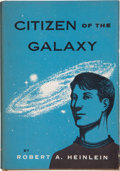 Books:First Editions, Robert A. Heinlein. Citizen of the Galaxy. New York: CharlesScribner's Sons, [1957]. First edition, first stat...