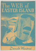 Books:Science Fiction & Fantasy, Donald Wandrei. The Web of Easter Island. Sauk City: Arkham House, 1948. First edition. Twelvemo. 191 pages. Publish...