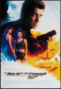 "Movie Posters:James Bond, The World is Not Enough (MGM, 1999). One Sheet (27"" X 40""). JamesBond.. ..."