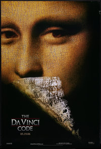"""The Da Vinci Code & Other Lot (Columbia, 2006). One Sheets (2) (27"""" X 40"""") DS Advance. Thriller. ... (..."""