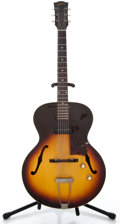Musical Instruments:Electric Guitars, 1963 Gibson ES-125 Sunburst Archtop Electric Guitar #120807...