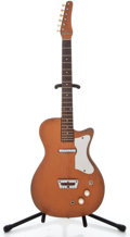 Musical Instruments:Electric Guitars, 1950's Silvertone U-1 Copper Solid Body Electric Guitar ...