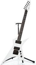 Musical Instruments:Electric Guitars, 1980's Peavey Vortex 1 White Solid Body Electric Guitar#02351036...