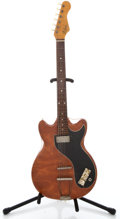Musical Instruments:Electric Guitars, 1960's Hofner Vinyl Solid Body Electric Guitar...