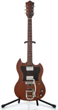 Musical Instruments:Electric Guitars, 1971 Guild S-90 Refinished Solid Body Electric Guitar #53242...