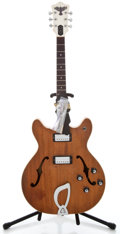 Musical Instruments:Electric Guitars, 1968 Guild Starfire IV Stripped Semi-Hollow Body Electric Guitar#EL1902...