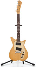 Musical Instruments:Electric Guitars, 1970's Gretsch Beast Natural Solid Body Electric Guitar ...