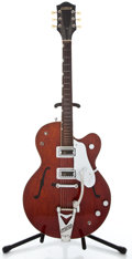 Musical Instruments:Electric Guitars, 1962 Gretsch Tennessean Walnut Semi-Hollow Body Electric Guitar #46816...