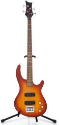 Musical Instruments:Bass Guitars, Recent Dean Edge Autumn Burst Electric Bass Guitar #D801461...