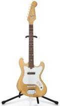 Musical Instruments:Electric Guitars, 1960's Tele-star Single pickup Gold Solid Body Electric Guitar ...