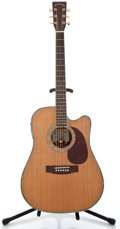 Musical Instruments:Acoustic Guitars, 2006 Zager ZAD-80CE Natural Acoustic Electric Guitar #SI51203012...