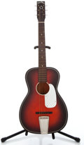 Musical Instruments:Acoustic Guitars, 1960's Harmony 5 Star Red Acoustic Guitar ...
